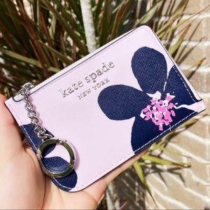 Kate Spade grand flora 🌸L-Zip Cardholder